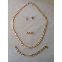Conjunto De Anillo/aretes/collar/pulsera Rolex