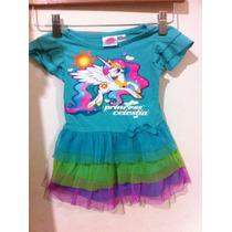 Vestido My Little Pony Original Eeuu Nenas Disfraz Cumpleaño