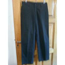 Pantalón Mistral Talle 36-contorno De Cintura 84,5cm. Negro