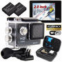 Cámara Deportes Extremos Wifi Action Camera Full Hd 1080p