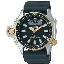 Relógio Citizen Jp2004 Aqualand Serie Ouro Relançamento