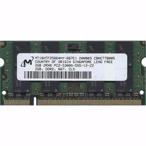 Memoria Ram Laptop 2gb Ddr2 667mhz Pc-5300 200-sodimm