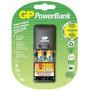Cargador Gp Powerbank Para Pilas Aa Y Aaa Con 2 Pilas Aaa