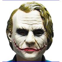 Máscara Cosplay Latex Hallowen Joker Palhaço Coringa