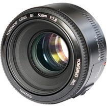 Lente Yongnuo 50mm F1.8 Af Para Canon Ef Pronta Entrega Novo