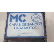 Capa De Banco Cg Fan125 2005 Ate 2008 Resistente Marcio Moto