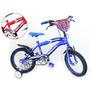 Bicicleta Top Mega Cross Varon Junior Rodado 12