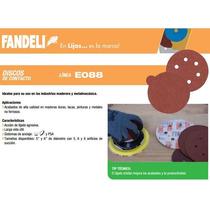 Discos 5 In Para Lijar Con Velcro Fandeli, 50 Pz, Grano 60