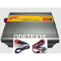 Inversor 800w 12v 220v Transformador Conversor Veicular Usb