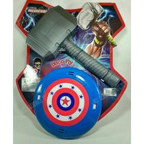 Martelo Thor + Escudo Capitão América