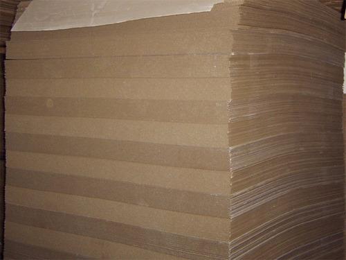 L mina de cart n corrugado diversos tama os en for Laminas de carton