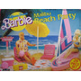 California Dream Barbie Malibu Beach Party 26 Piezas Playset