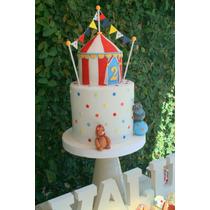 Candy Bar Circo - Golosinas, Cookies, Cupcakes, Cake Pops