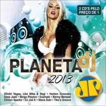 Cd /duplo Planeta Dj 2013 Jovem Pan (lacrado)