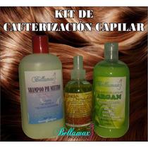 Kit Restaurador Capilar (shampoo + Crema Argán + Keratina)