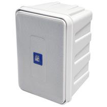 Caixa Som Ambiente Ativa 4,75 Pol 50w Staner Ps 50 Branca