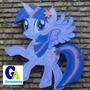 Cartel Espumaplast My Litlle Pony Otrs Personajes Cumpleaños