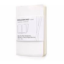 Caderno Moleskine Volant - Extra P - Sem Pauta - Branco 0462