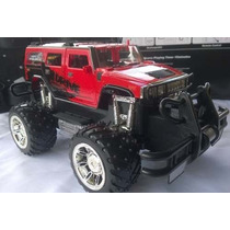 Carrinho Rc Jeep Hummer Pickup Hammer Damadores Mp3 V 35cm
