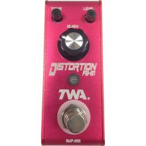 Pedal De Efecto Distortion De Twa Flyboy, True Bypass
