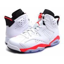 Bota Zapato Nike Jordan 6 Retro Talla 11 +camiseta Regalo