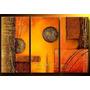 Cuadros Abstractos Pintados Varias Piezas Texturados Novedad