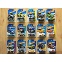 Set De 15 Camionetas Pick Up Hot Wheels Ford Chevy Toyota