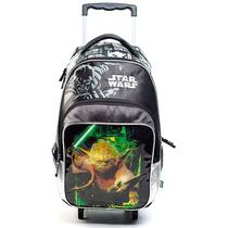 Star Wars Mochila Con Carro 17p (59205)