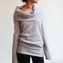 Caliente Jersey Blusa Suéter Con Capucha Vestido Jumper