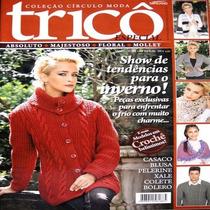 Revista Círculo Moda Tricô Especial Nº 02 Minuano