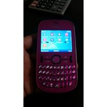 Nokia Ash 201 Usado Rosa