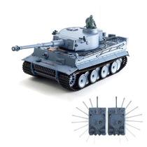 Tanque De Guerra Control Remoto Tiger Sonido Humo