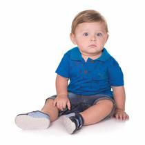 Camisa Polo Para Bebê Roupa De Bebê Moda Infantil Isensee