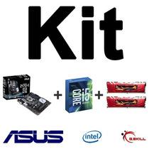 Kit Asus Z170-e + Intel I5-6600k + Mem. 8gb (2x4gb) Ddr4