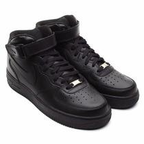 Nike - Air Force 1 Mid 07 Negro / Nuevo-original