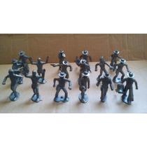 Vaqueros Y Sheriff`s Figuras 6 Cm Con 16 Pzas Tipo Marx