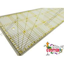 Régua De Corte Para Patchwork 15x60cm