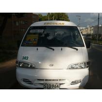 Camioneta Escolar Hyundai Grace 2004 Con Trabajo