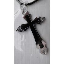 Cordão Com Crucifixo Em Aço Inox - Ref. 2360760