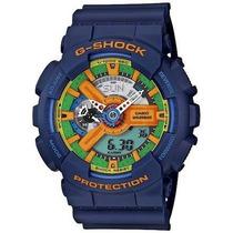 Reloj Casio G-shock Ga_110_fc 2adr Azul
