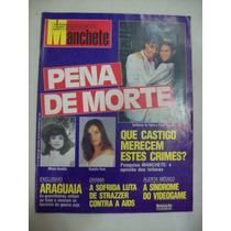 Revista Manchete -daniela Perez, Pena De Morte N2131 - 1993