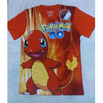 Polos Patentados Pokémon Go Original Para Niños
