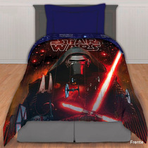 Acolchado + Sabanas Infantiles Star Wars 1 1/2 Plazas Piñata