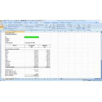 Calculo De La Utilidad De Los Trabajadores, Excel, Lottt