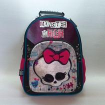 Mochila Monster High 16 Espalda Liciencia Original