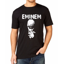 Camiseta Eminem Rap Hip Hop Camisa 100 % Algodão