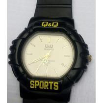 Bonito Reloj Q&q Sport! De Manecillas! Muy Buen Estado!usado