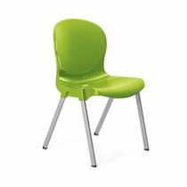 Cadeira Bianca - Plastica - Alumínio Colorida