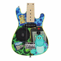 Mini Guitarra Electrica Infantil Disney Monsters University