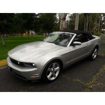 Mustang Gt Covertible 8 Cilindros El Mas Equipado Impecable